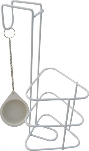 Sundo Urinflaschenhalter Standard mit Deckel - PZN 08453043 - Sundo Homecare.