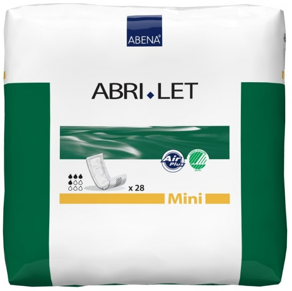 Abena Abri-Let Mini - Rechteckvorlagen bei Blasenschwäche.