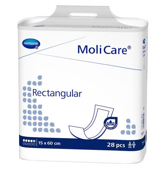 MoliCare® Rectangular 5 Tropfen (15x60 cm) - Vorlage