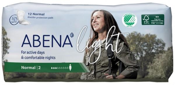 Abena Light Normal - Nr. 2 - Inkontinenzeinlagen bei Blasenschwäche.