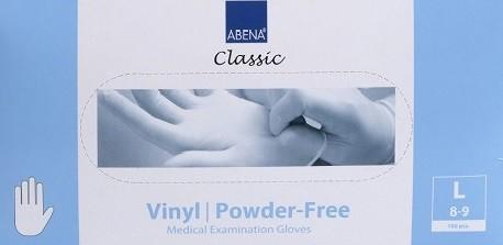 Abena Classic Vinyl Einweghandschuhe.
