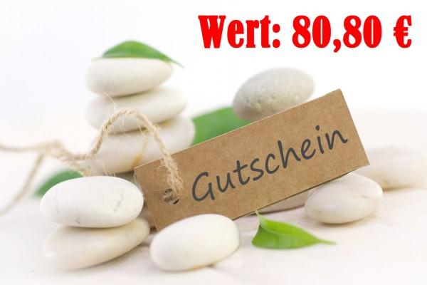 80,80 EUR Gutschein