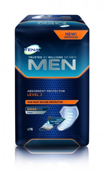 Tena Men Level 3 - Inkontinenzeinlagen bei Blasenschwäche.