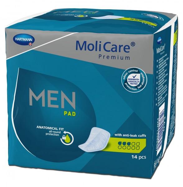 MoliCare Premium MEN PAD - Inkontinenzeinlagen von Paul Hartmann.