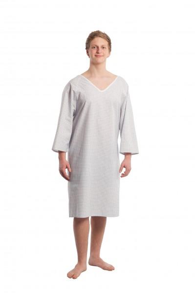 Suprima Pflegehemd Baumwolle zum Binden, 3/4 Arm - Art 4064 - Pflegehemd von Suprima.