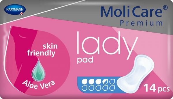 MoliCare Premium lady pad 3,5 Tropfen - Inkontinenzeinlagen von Hartmann.