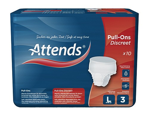Attends Pull-Ons Discreet 3 - Gr. Large - PZN 09193064