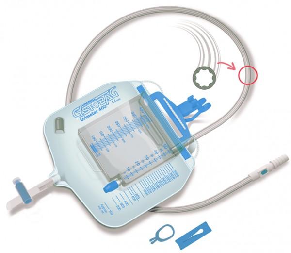 Steriler Urinbeutel von UROMED - Urimeter 400.