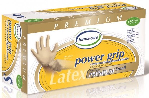forma-care POWER GRIP Latex - Gr. Small - PZN 11222471