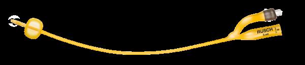 Teleflex Rüsch Gold Ballonkatheter aus Latex - zylindisch, 2-Augen, - 30cm