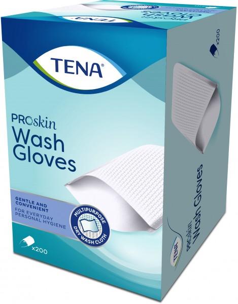 TENA ProSkin Wash Gloves - ohne Folie