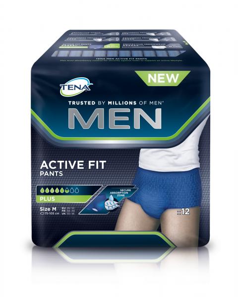 TENA MEN Active Fit Pants Medium Inkontinenz-Pants für Männer.