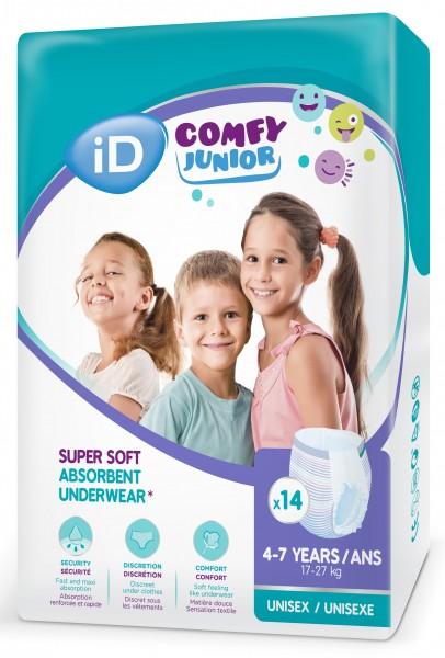 id Comfy Junior Pants, (4-7 Jahre, bis 86 cm) Babywindel.