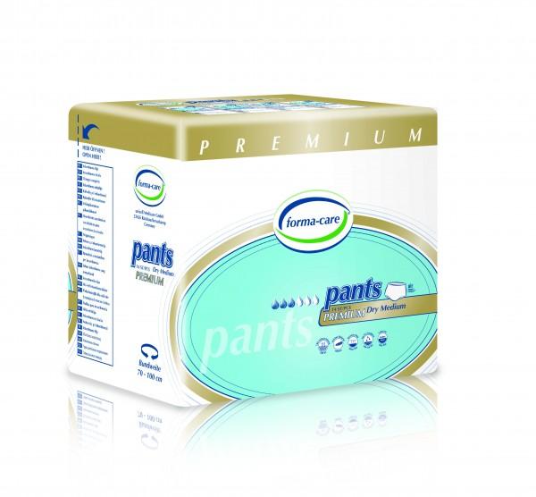 Forma-care Pants Premium Dry - Gr. Medium Tag (M1) sind Windelhosen bei mittlerer bis schwerer Inkontinenz.