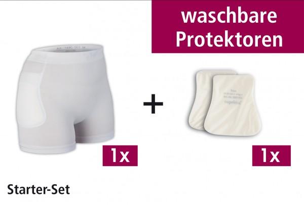 Suprima Starter Set B - Hüftprotektor-Slip Set - Art. 1493 - Sturzprophylaxe bei erhöhtem Sturzrisiko & Demenz.