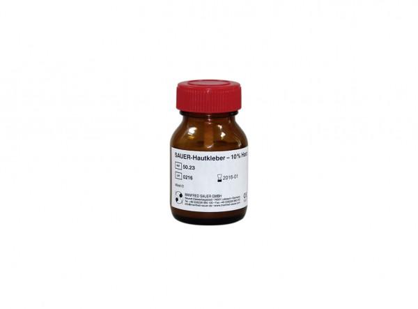 Latex SAUER-Hautkleber – 10 % Harz - Hautkleber für Urinalkondome und Kondomurinale von Manfred Sauer.