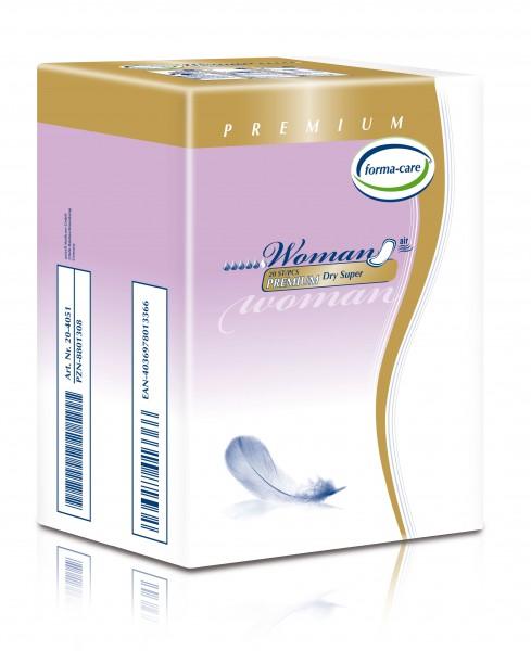 Forma-Care Woman Premium Dry Super sind saugstarke Inkontinenzeinlagen.