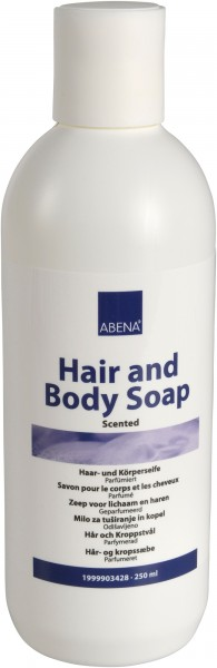 Abena Skincare - 250 ml - Haar- und Körpershampoo Gurkenfrische