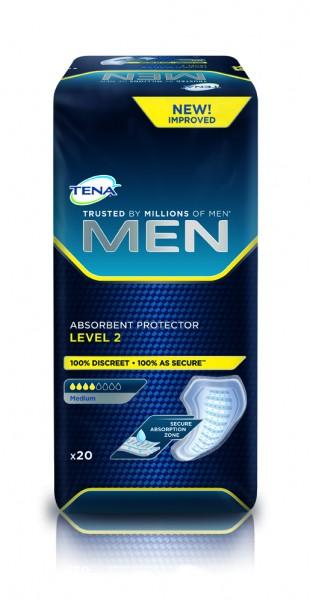 Tena for Men Level 2 - Inkontinenzeinlagen für Männer.