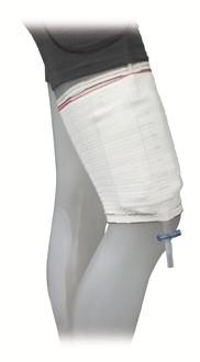 GHC Care Fix Klettfixierstrumpf Beinbeutel-Halterung.