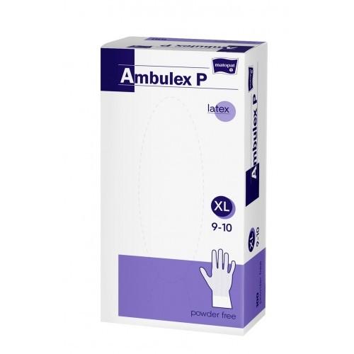 Ambulex Latex-Handschuhe, Einweghandschuhe.