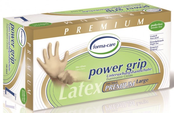 forma-care POWER GRIP Latex - Gr. Large - PZN 02335495