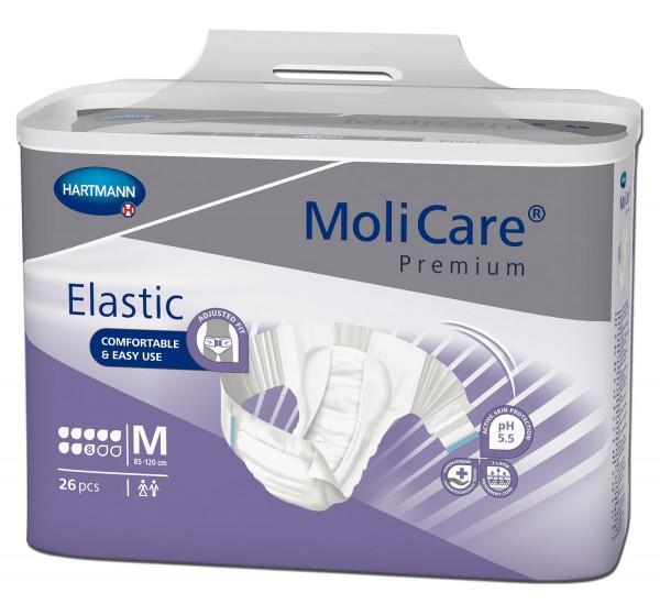 MoliCare Premium Elastic Medium 8 Tropfen. Bei Inkontinenz und Blasenschwäche.