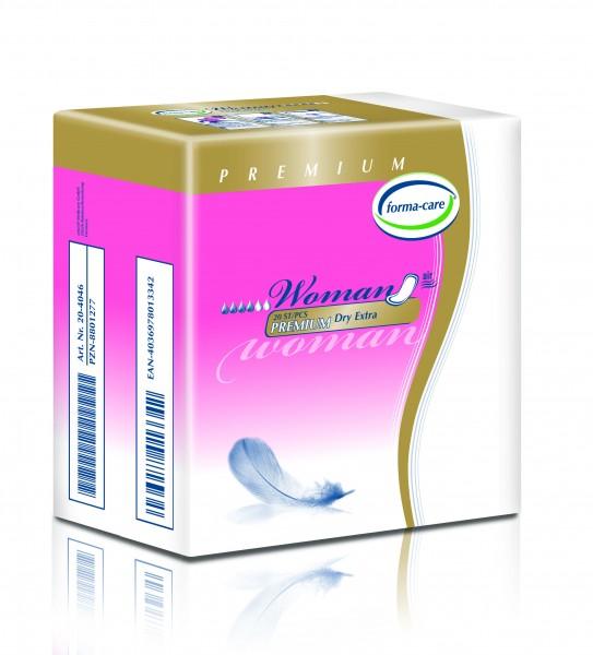 Forma-Care Woman Premium Dry Extra sind saugstarke Inkontinenzeinlagen.