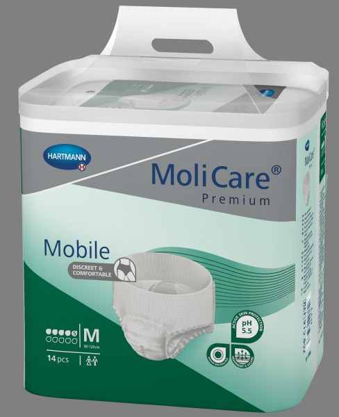 MoliCare Premium Mobile 5 Tropfen Gr. Medium - PZN 13476804
