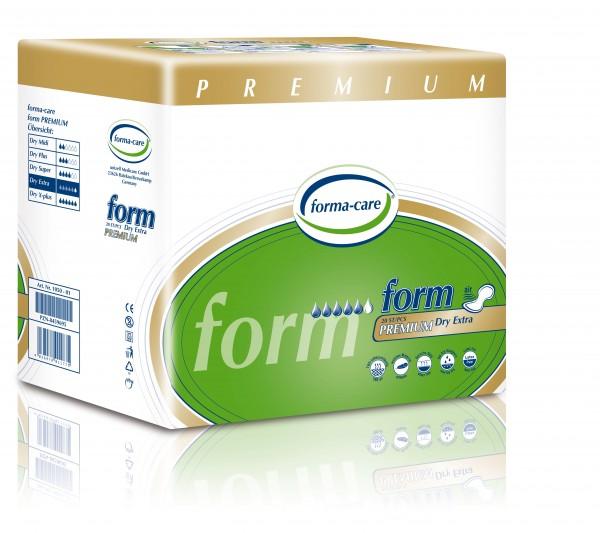 Forma-Care Form Premium Dry - Extra sind saugstarke Form-Vorlagen bei mittlerer bis schwerer Inkontinenz und Blasenschwäche.