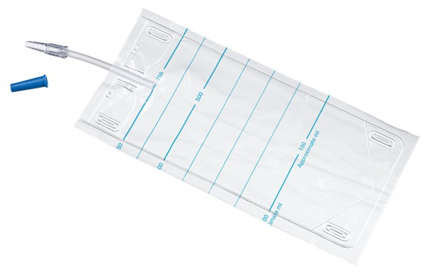 Teleflex Urinauffangbeutel - 10 cm, 750ml - unsteril