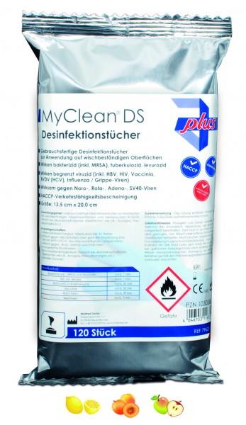 Maimed MyClean DS Desinfektionstücher.