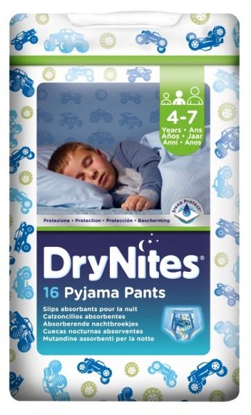 Huggies Dry Nites Boy Kinderpants - 17-30 Kg - (4-7 Jahre). DryNites Kinderpants sind saugstarke Babywindeln.