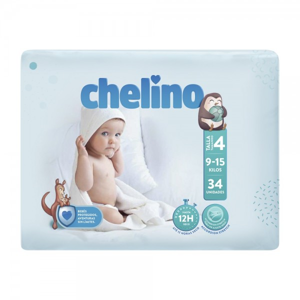 Indas Chelino T4 Crawling (9-15 Kg) - Babywindeln.