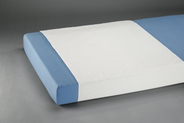 Suprima Mehrfachbettauflage mit Seitenteilen - Art 3102 - Textile waschbare Krankenunterlagen, Bettunterlagen, Patientenunterlagen von Suprima.