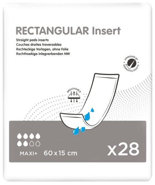 iD Rectangular Insert Maxi+ without Strip - (60x15 cm)