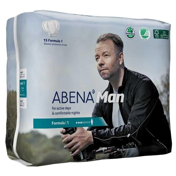 Abena Abri-Man Formula 1 - Inkontinenzeinlagen speziell für Männer von Abena.