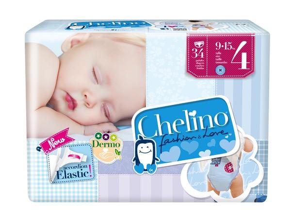 Attends Babywindeln Chelino T4 Crawling (9-15 Kg). Babywindeln und Kinderwindeln von Attends.
