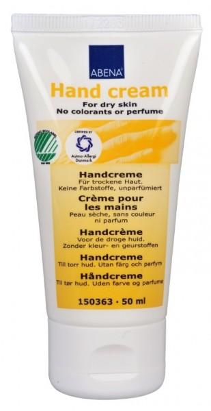 Abena Skincare - Handcreme parfumfrei, 35% Fettgehalt - 50ml