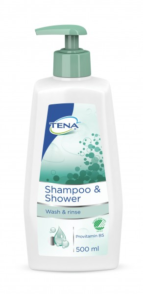 Tena Shampoo + Shower - Pflegeshampoo