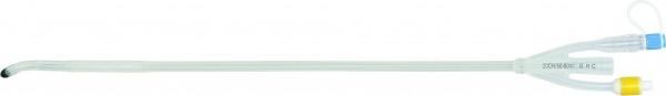 GHC CARE FLOW. Transurethrale 100% Silikonspülkatheter 3-Wege Ballonkatheter mit Mercierspitze.