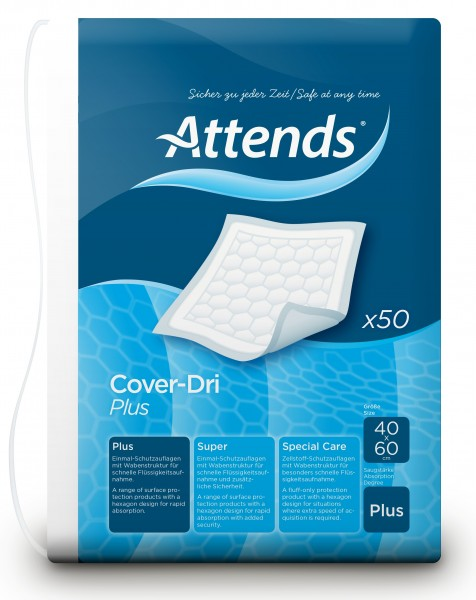 Attends Cover-Dri Plus - 40x60 cm - PZN 01882893